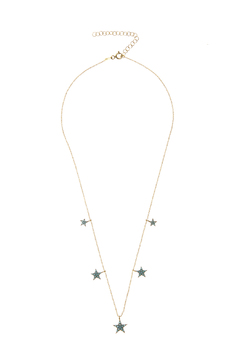 Shoptiques Product: Multi Star Necklace