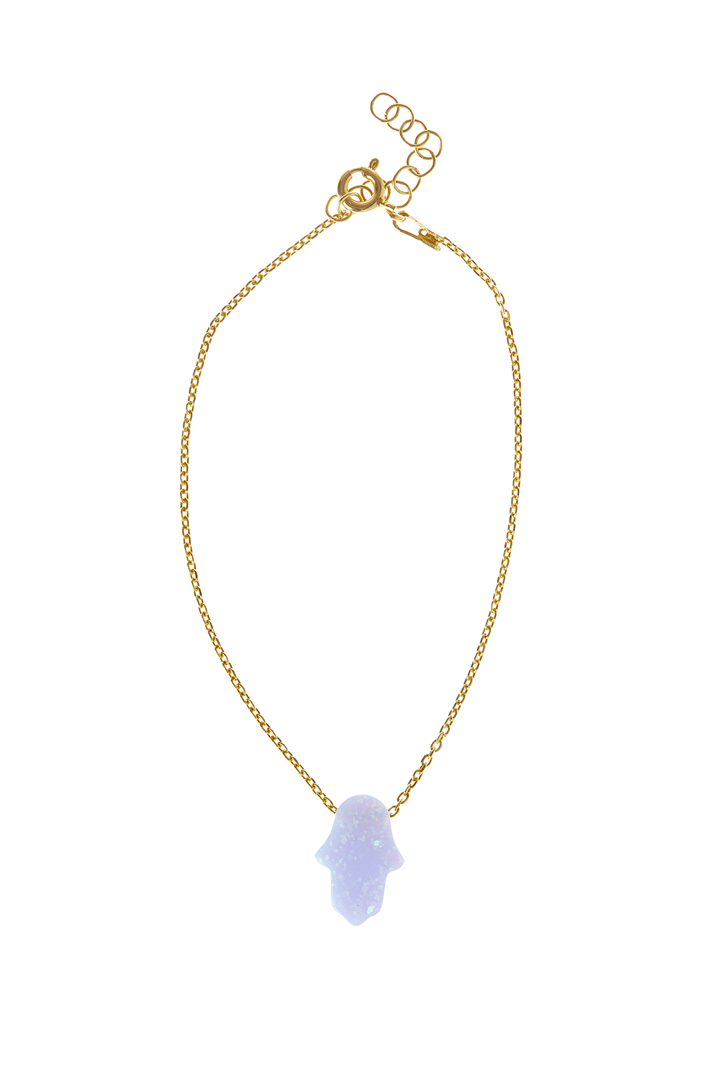 85160879082a5 Lets Accessorize Opal Hamsa Bracelet from New York by Let's ...