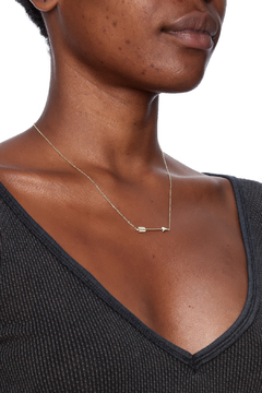 Shoptiques Product: Trendy Arrow Necklace