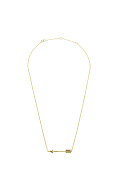 Lets Accessorize Trendy Arrow Necklace - Product List Image