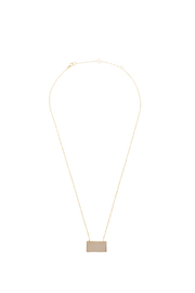 Lets Accessorize Trendy Bar Necklace - Front cropped