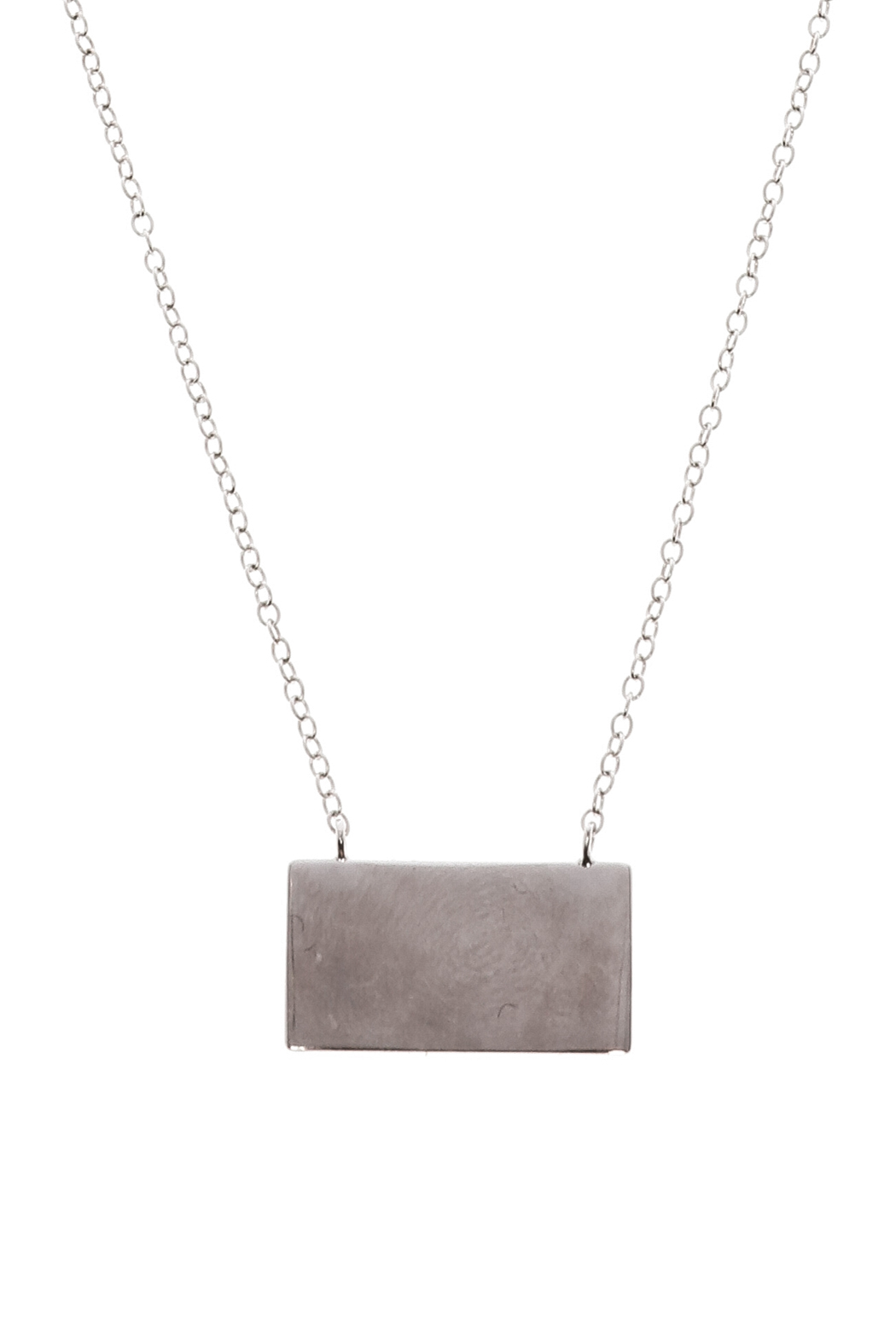 Lets Accessorize Trendy Bar Necklace - Front Full Image