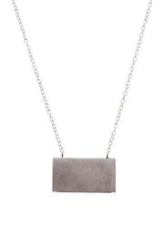 Lets Accessorize Trendy Bar Necklace - Front full body