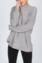 AMUSE SOCIETY Lets Snuggle Sweater - Front full body
