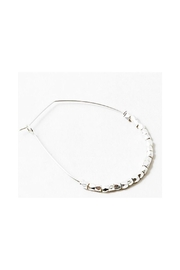 Lets Accessorize Beaded Hoop Earrings - Product Mini Image
