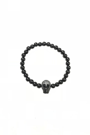 Lets Accessorize Beaded Skull Bracelet - Product Mini Image