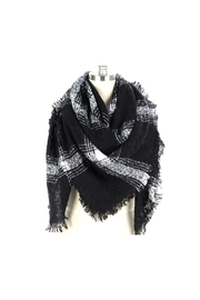 Lets Accessorize Blanket Plaid Scarf - Product Mini Image