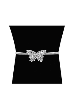 Lets Accessorize Butterfly Crystal Belt - Product List Image