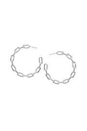 Lets Accessorize Chain Link Hoop - Product Mini Image