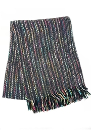 Lets Accessorize Colorful Fringe Scarf - Product Mini Image