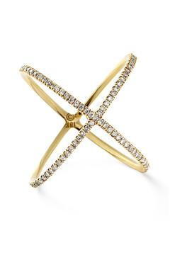 Lets Accessorize Crisscross X Ring - Alternate List Image