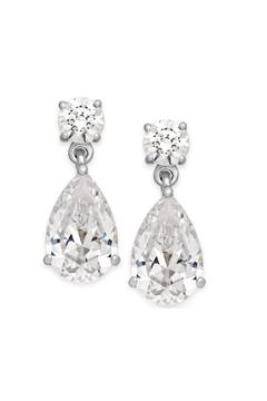 Lets Accessorize Statement Crystal Earrings - Alternate List Image
