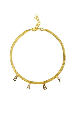 Shoptiques Product: Customizable Gold Choker