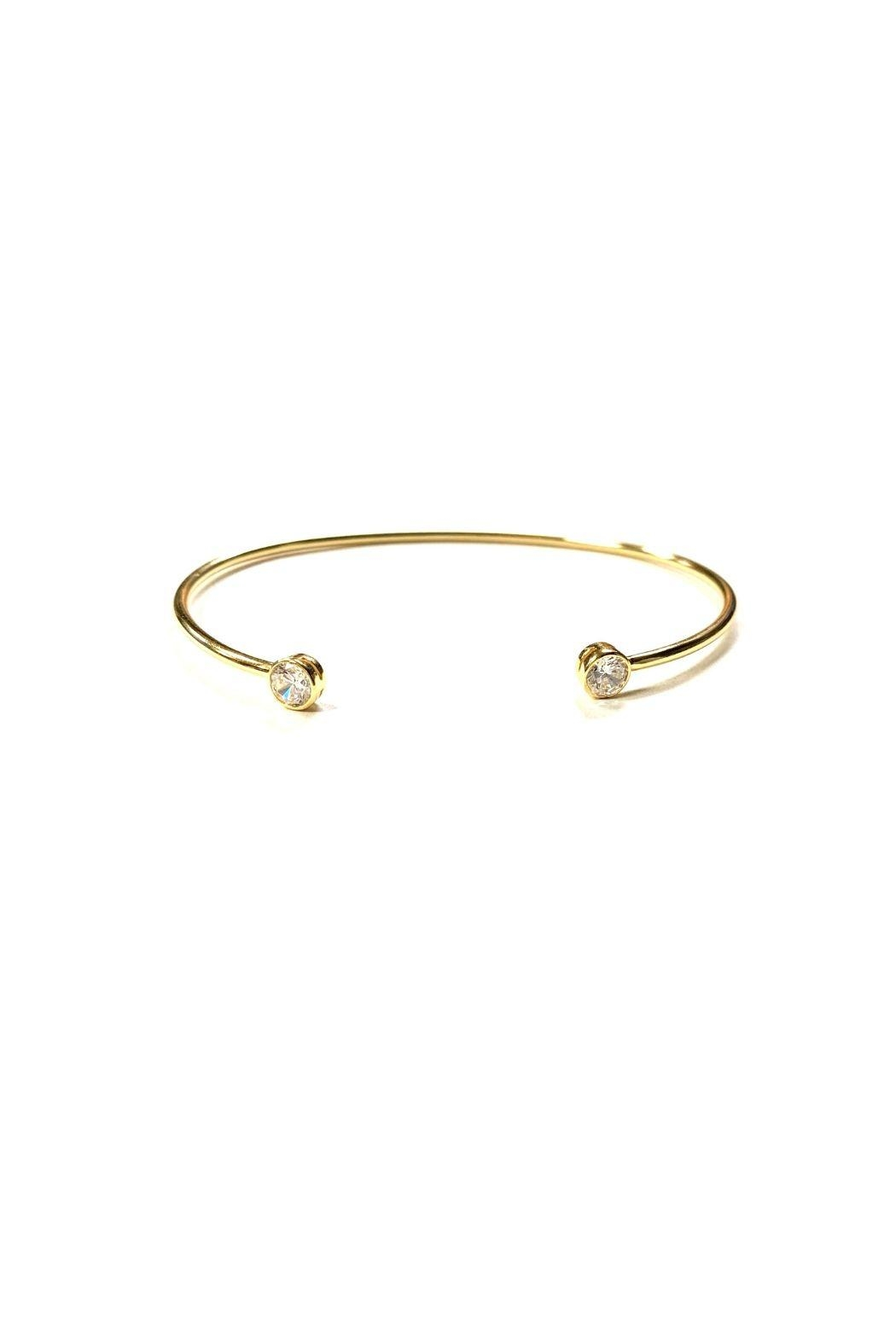 Lets Accessorize Cz Bangle - Front Cropped Image
