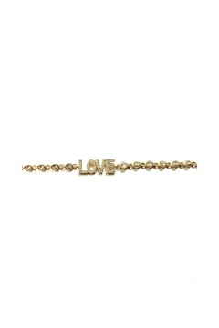 Lets Accessorize Cz Love Bracelet - Alternate List Image