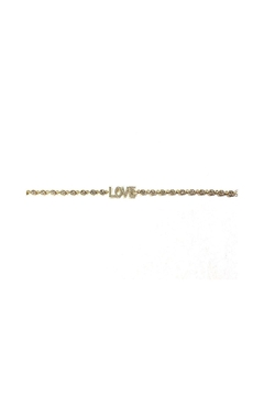 Lets Accessorize Cz Love Bracelet - Product List Image