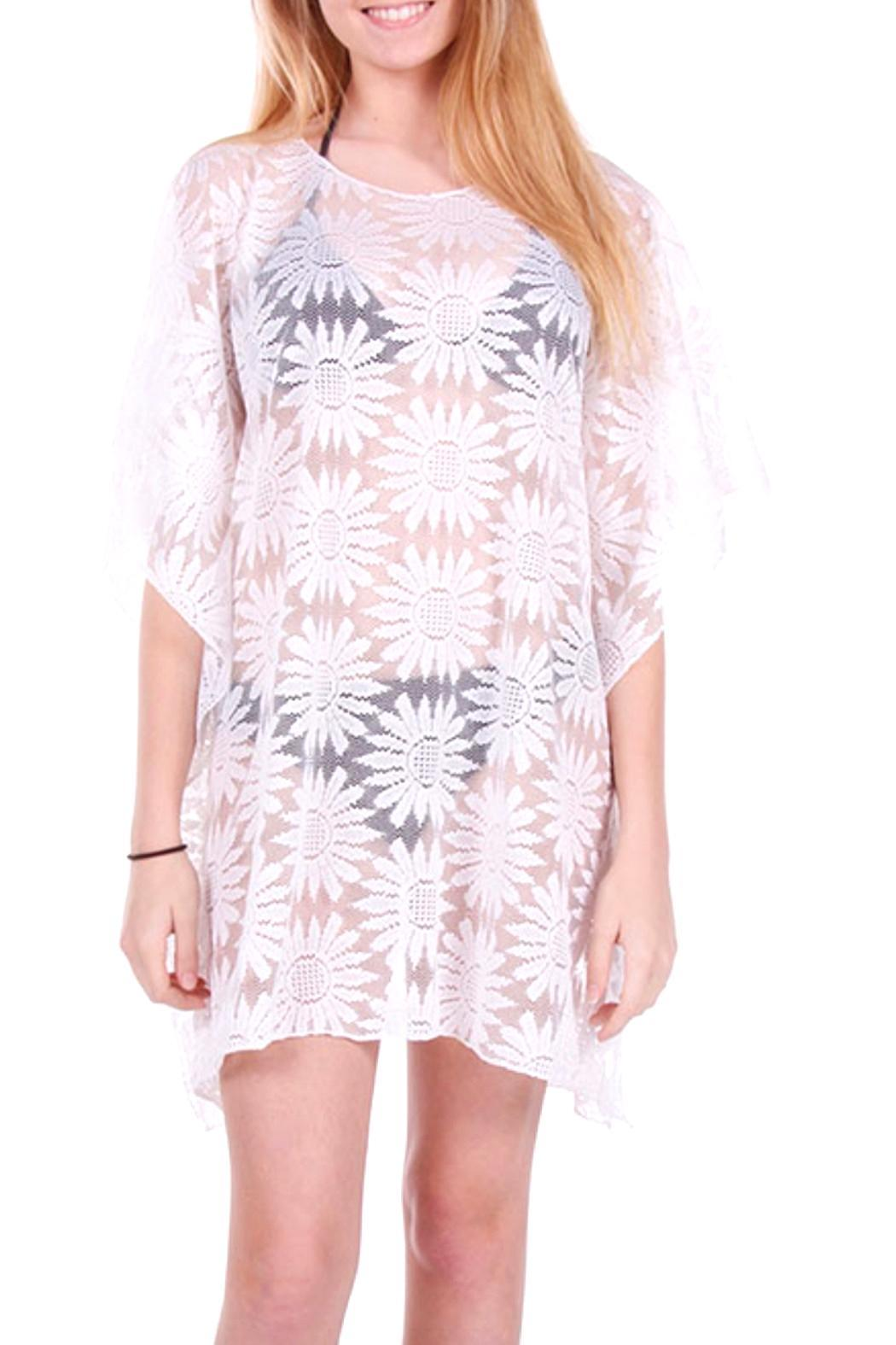 1bec309701a95 Lets Accessorize Daisy Beach Cover-Up from New York by Let's ...
