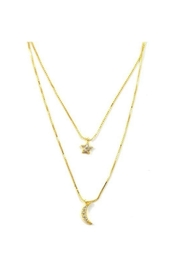 Lets Accessorize Dreamer Layer Necklace - Front cropped