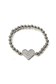 Lets Accessorize Elastic Heart Bracelet - Product Mini Image
