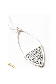 Lets Accessorize Elongated Oval Earrings - Product Mini Image