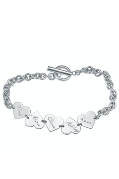 Shoptiques Product: Family Heart Bracelet