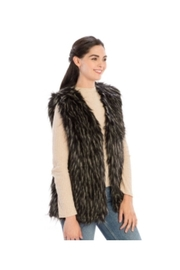 Lets Accessorize Faux Fur Vest - Product Mini Image