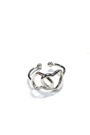 Lets Accessorize Forever Heart Ring - Front cropped