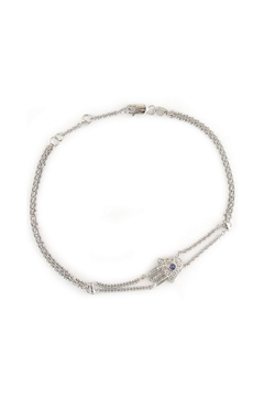 Lets Accessorize Hamsa Sapphire Bracelet - Alternate List Image