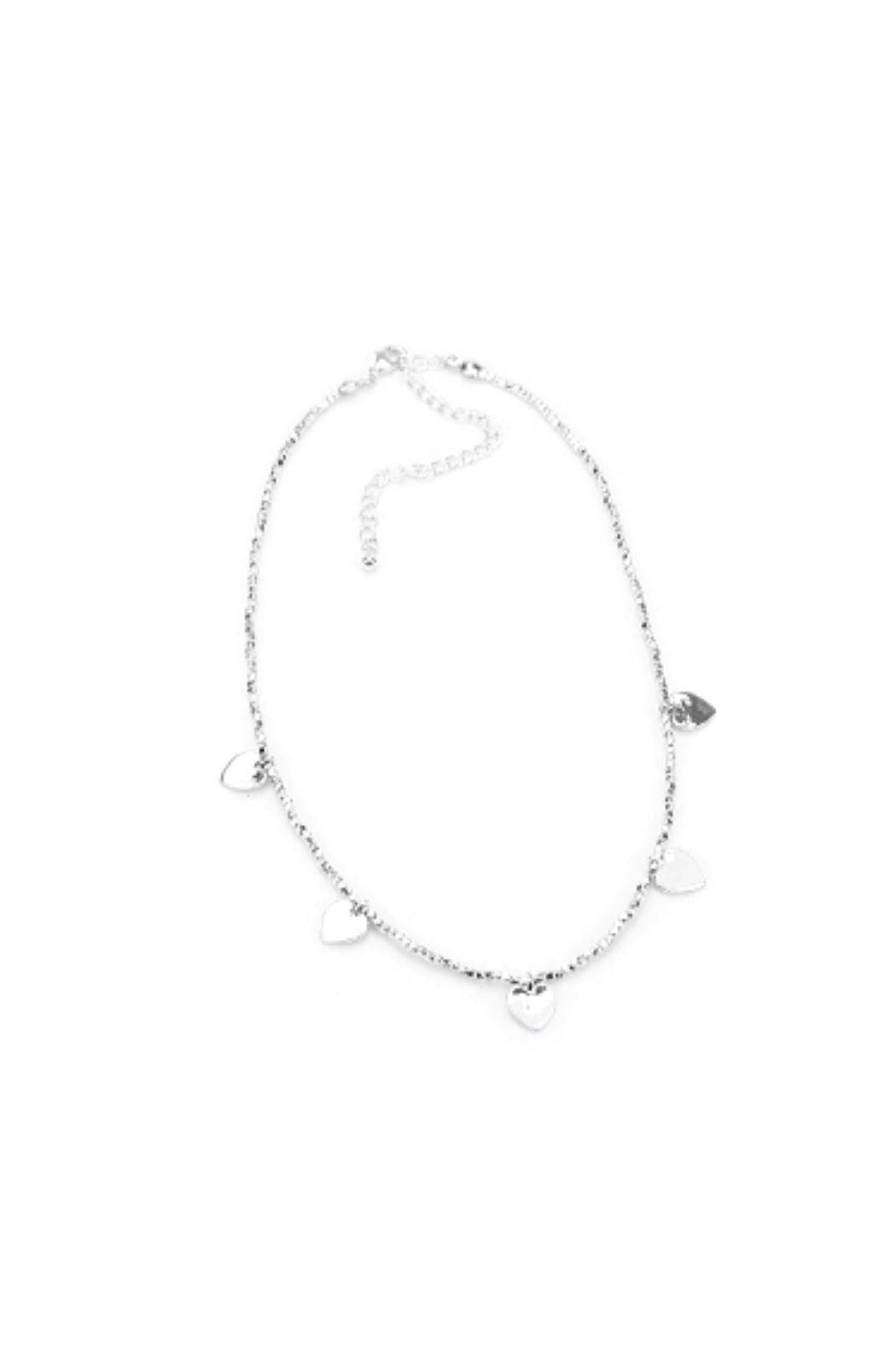 Lets Accessorize Heart Choker - Main Image