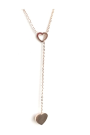 Lets Accessorize Heart Lariat Necklace - Product Mini Image