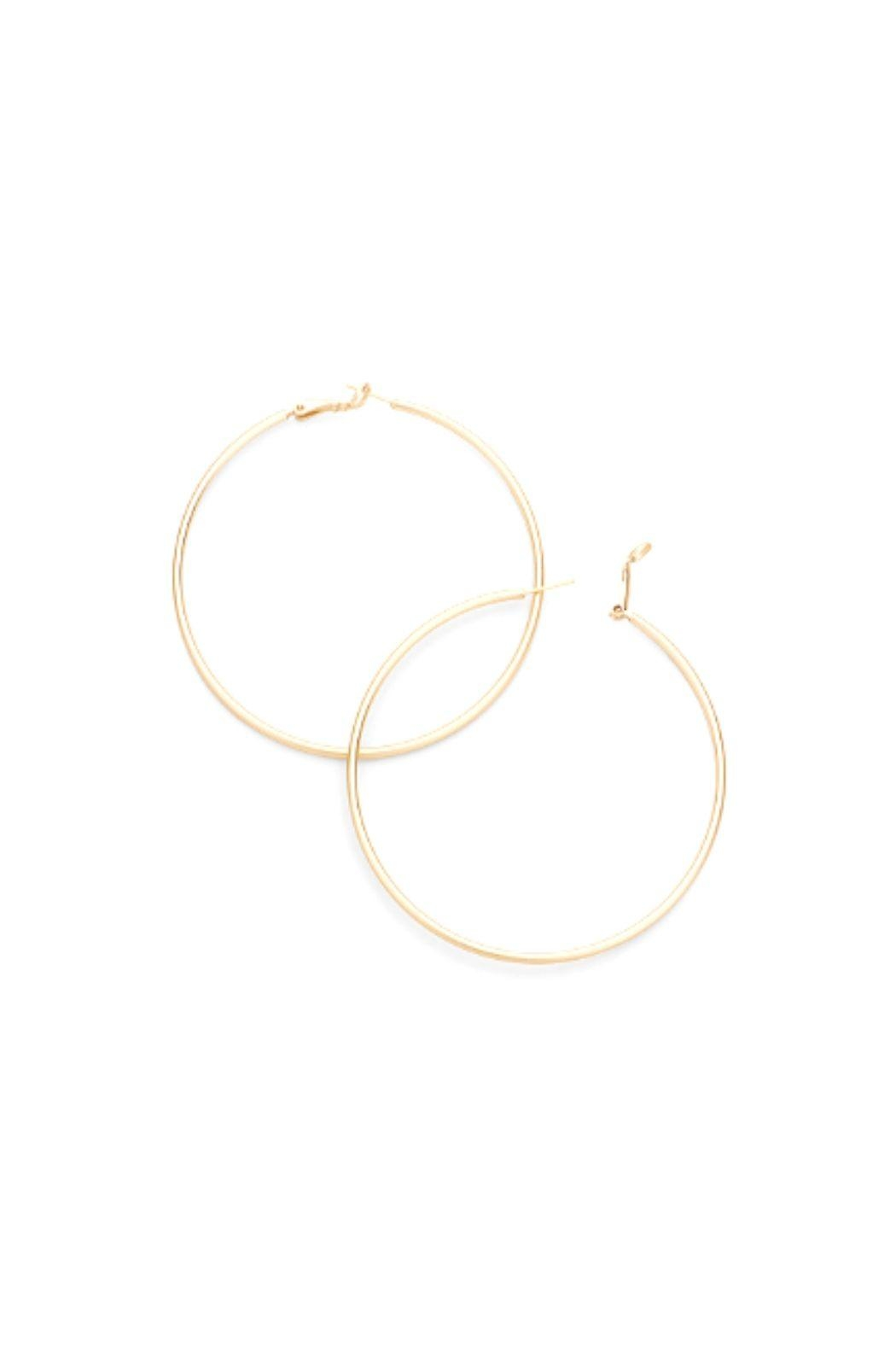 Lets Accessorize Hoops - Front Full Image