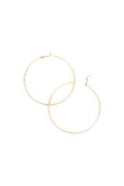 Lets Accessorize Hoops - Front full body