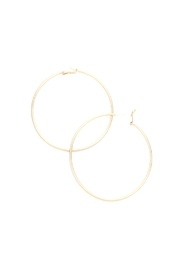 Lets Accessorize Hoops - Front cropped