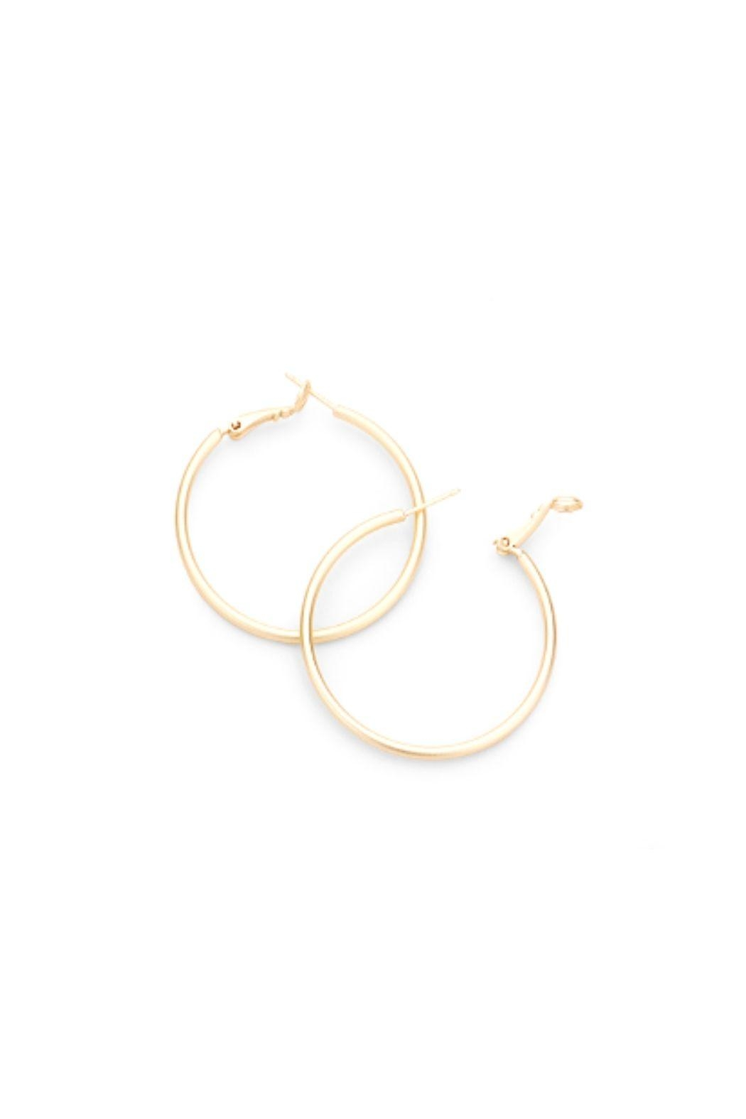 Lets Accessorize Hoops - Side Cropped Image