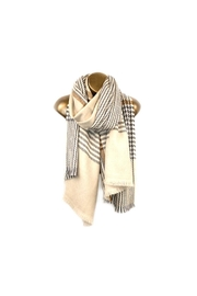 Lets Accessorize Houndstooth Plaid Scarf - Product Mini Image