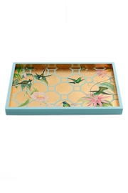 Lets Accessorize Hummingbird Trellis Tray - Front cropped