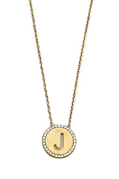 Lets Accessorize Initial Pendant Necklace - Alternate List Image