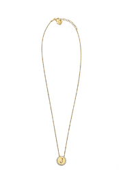 Lets Accessorize Initial Pendant Necklace - Front cropped