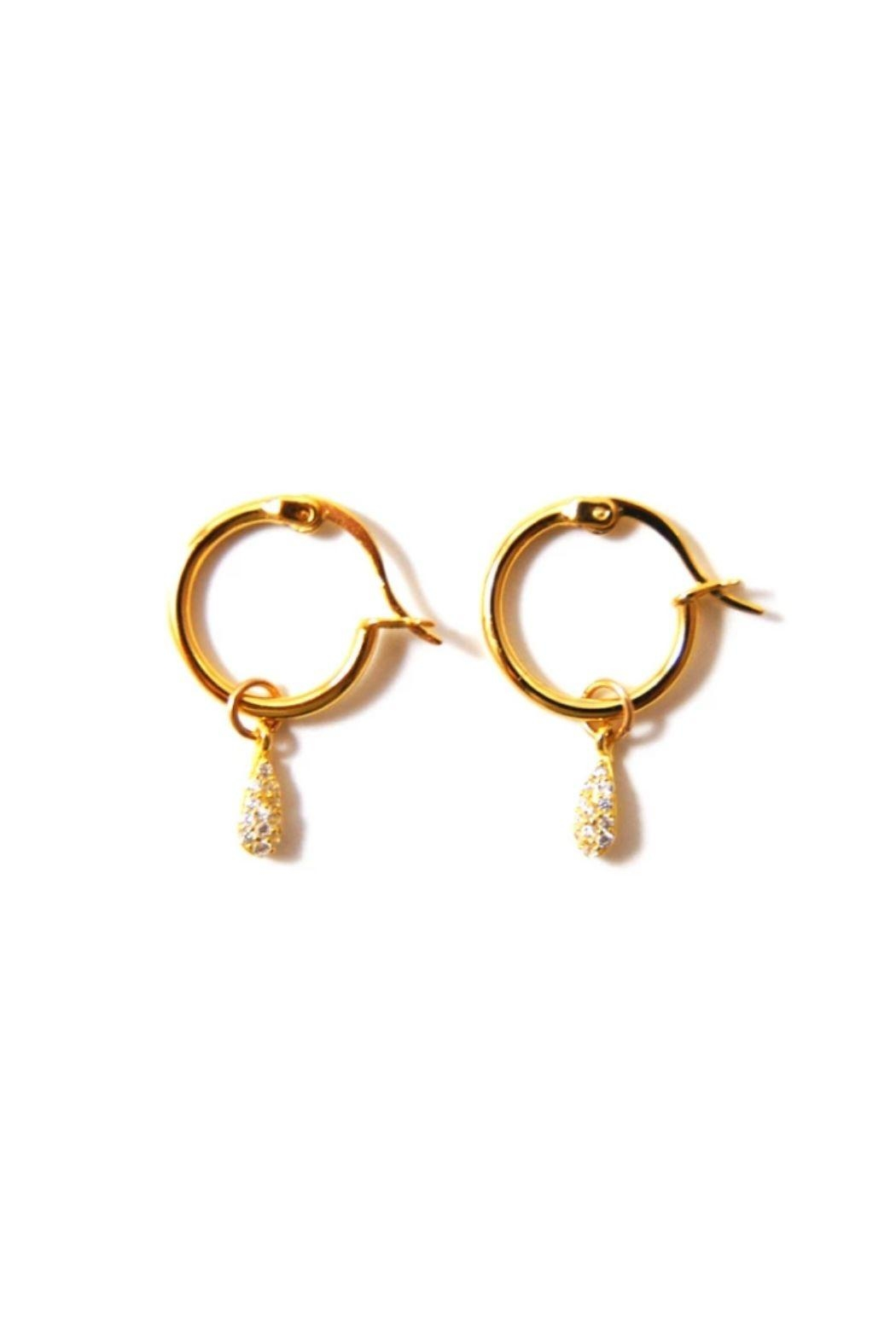 Lets Accessorize Kaia Hoop Earrings - Main Image