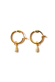 Lets Accessorize Kaia Hoop Earrings - Front cropped