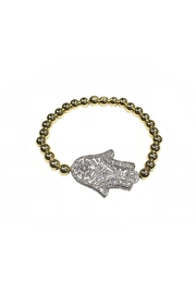 Lets Accessorize Large Hamsa Bracelet - Product Mini Image
