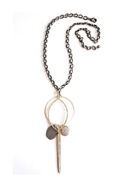 Lets Accessorize Long Chain Pendant Necklace - Product Mini Image