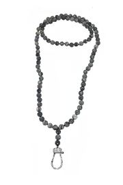 Lets Accessorize Multicolor-Grey Hook Necklace - Product Mini Image