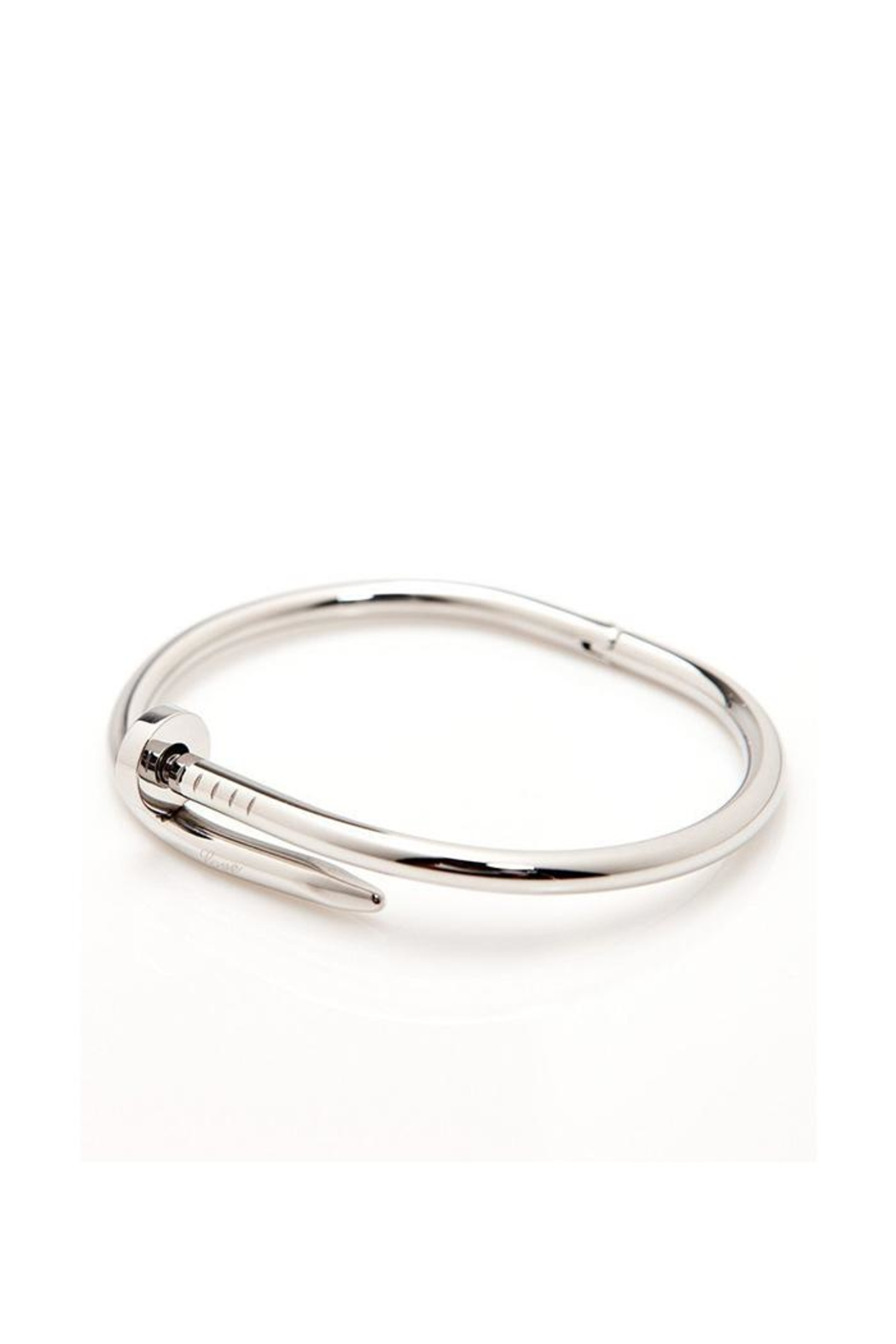Lets Accessorize Nail Bangle - Front Cropped Image