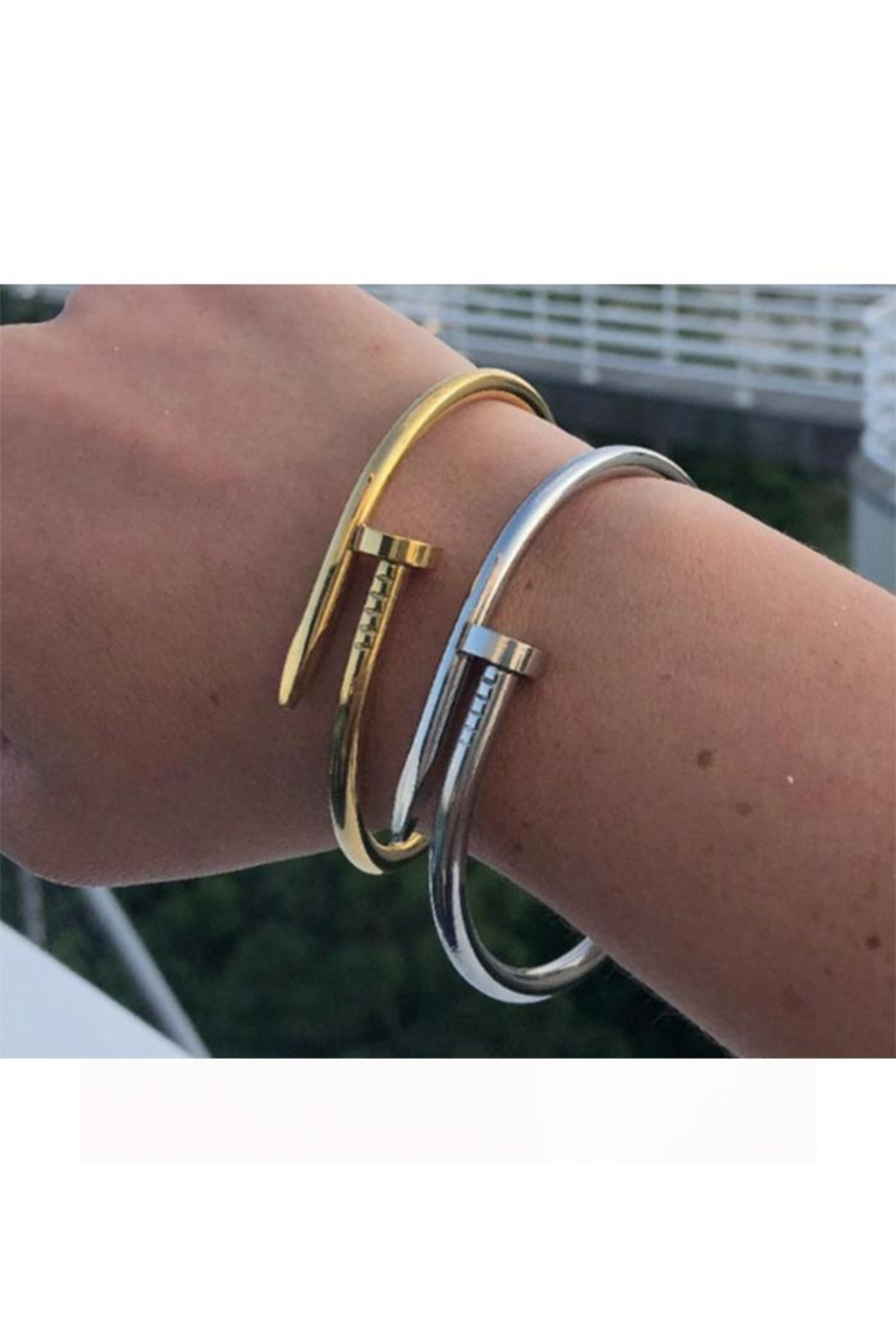 Lets Accessorize Nail Bangle - Front Full Image