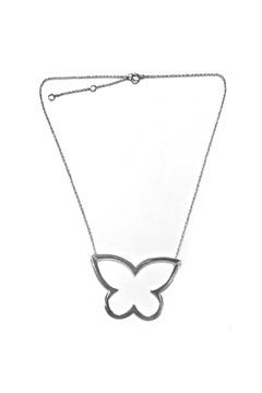Lets Accessorize Open Butterfly Necklace - Product List Image