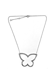 Lets Accessorize Open Butterfly Necklace - Product Mini Image