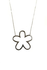 Lets Accessorize Open Flower Necklace - Product Mini Image