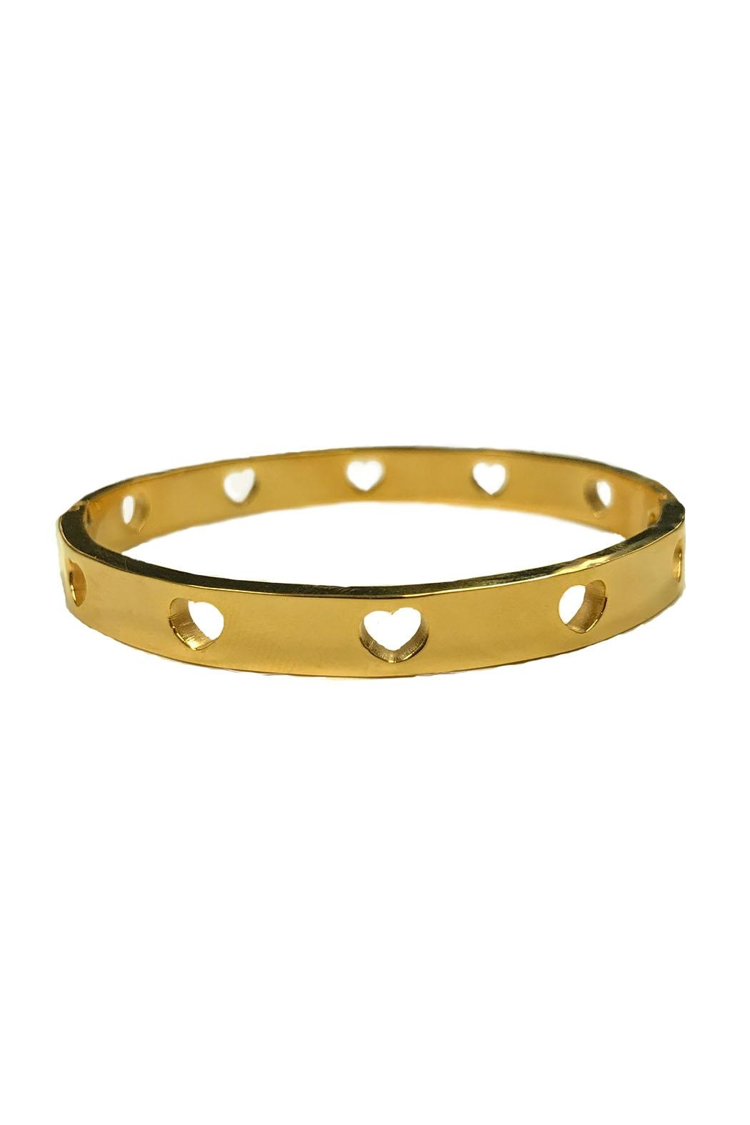 Lets Accessorize Open Heart Bracelet - Main Image