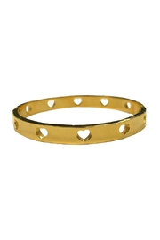 Lets Accessorize Open Heart Bracelet - Front cropped